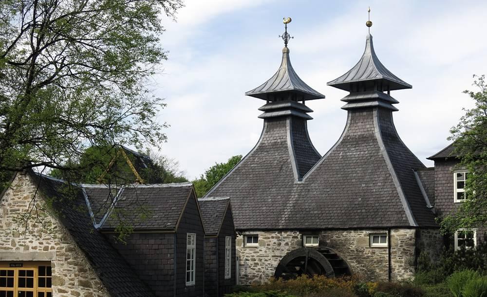 Distillery visit in Scotland